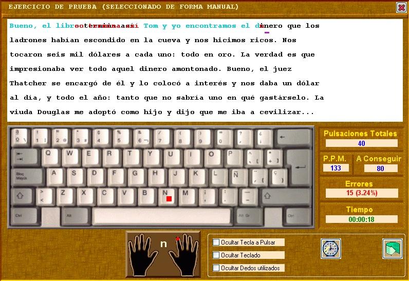 programa util para aprender a escribir sin ver el teclado