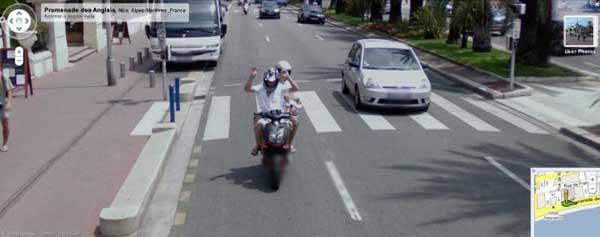 Imprudencias a lomos de una scooter