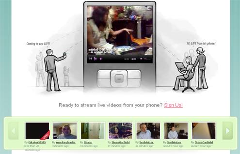 Emitir en directo con el móvil por Internet