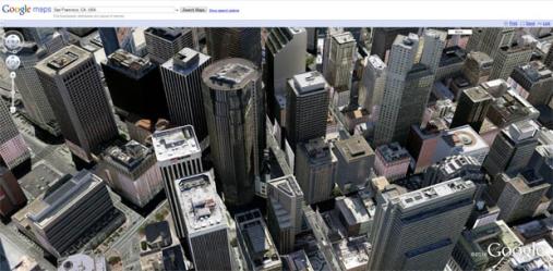 Google Maps también en 3D