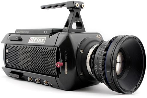 Phantom Flex captura vídeo FullHD a 2.800 imágenes/seg