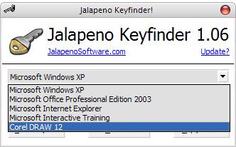 Buscar seriales en Windows con Jalapeno Keyfinder title=