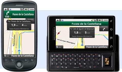Google Maps Navegacion GPS