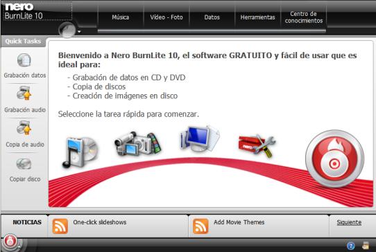 Descargar nero10 gratis