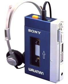 Primer modelo de Walkman Sony TPS-L2