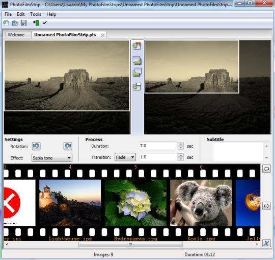 videos con fotos