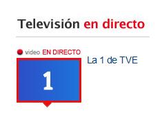 Ver la 1 de TVE Online