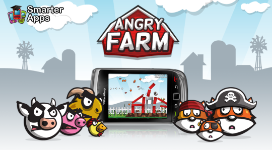 Descargar Angry Birds para Blackberry