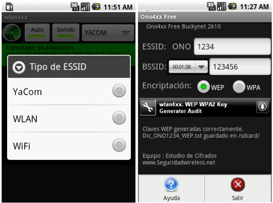 descifrar claves wifi con android