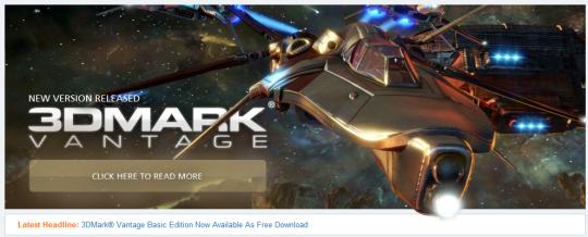 Descargar 3DMark Vantage gratis