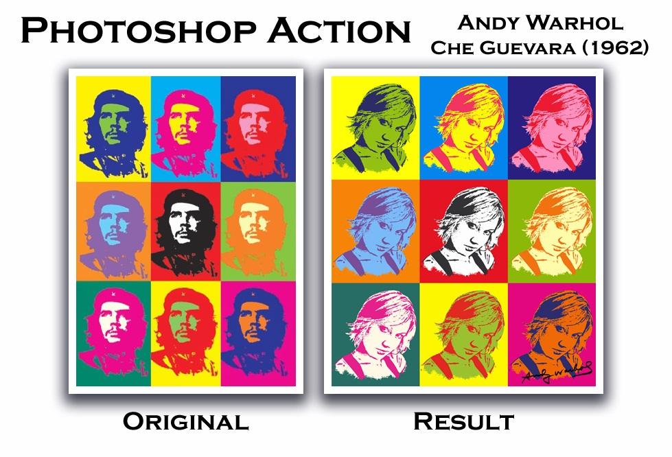 Efecto Andy Warhol para Photoshop