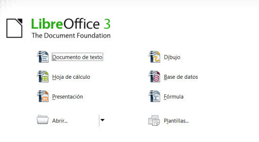 Descargar LibreOffice portable