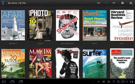 Leer revistas gratis con Android