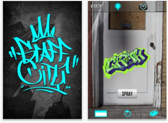 Grafitis por todas partes con tu iPhone