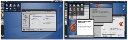 Transformar Windows 7 en Linux con Gnome