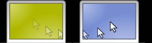 Control de equipos en red con un solo teclado/ratón