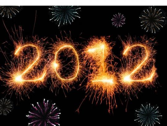 Mensajes para felicitar el año nuevo 2012