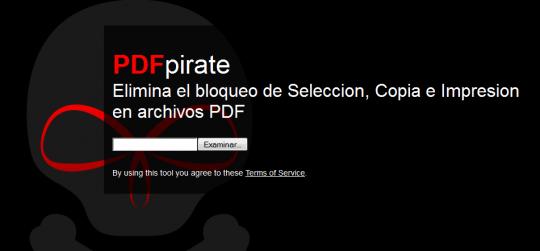 elimina anticopy pdf online