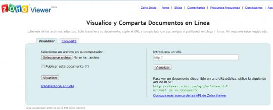 Consulta online documentos