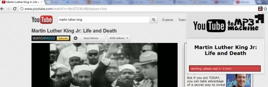 Descarga audio de Youtube desde Chrome
