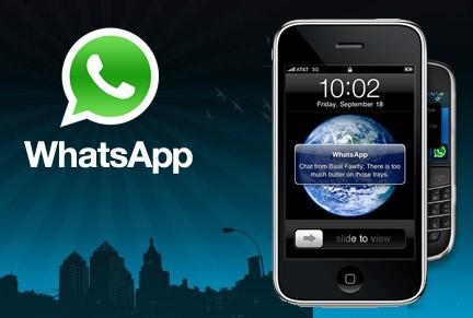 Whatsapp para iOS (Apple) gratuito