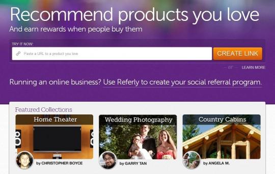 Ganar dinero recomendando productos en la web