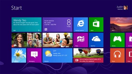 Descargar la versión final de Windows 8
