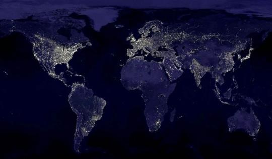 mapa mundial conexiones