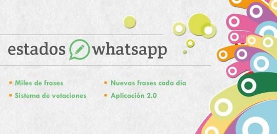 """Frases y lemas para el """"Estado"""" del Whatsapp"""