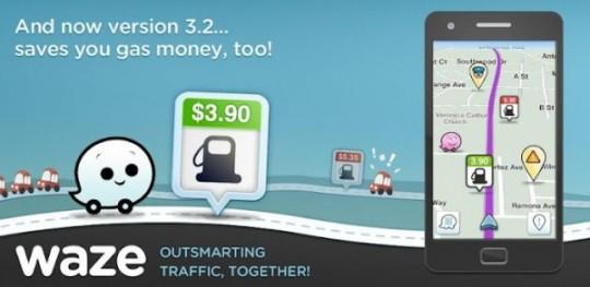 Waze: aplicación de tráfico y navegación