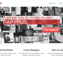 Papyrus, editor en línea de libros electrónicos