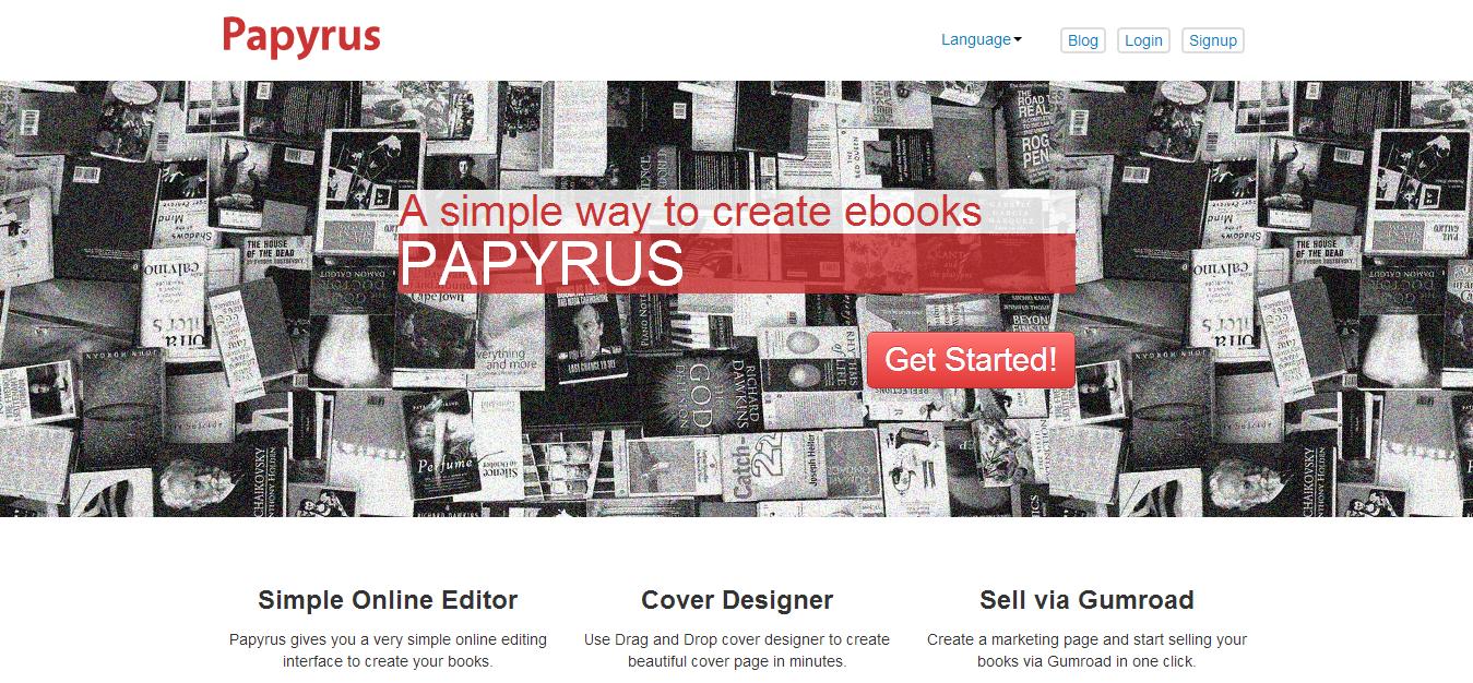 Create Ebooks   Papyrus Editor