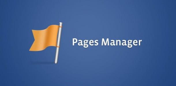 Pages Manager de Facebook