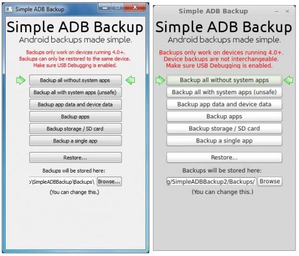 Simple ADB Backup