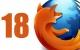 Lo nuevo de Mozilla Firefox 18