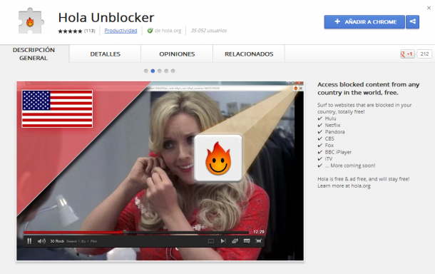 Hola! Unblocker