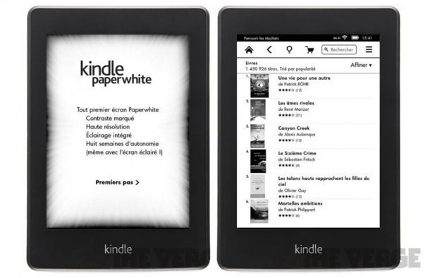 Kindle Paperwhite, el nuevo e-book de Amazon