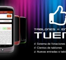 Tablones y entradas para Tuenti