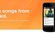 Control remoto de música en Grooveshark