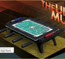 Classic Match Fooball futbolín en el iPad