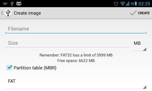 Inicio/boot desde Android para imágenes de disco o LiveCD