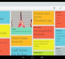 Google Keep guarda y sincroniza tus notas o listas