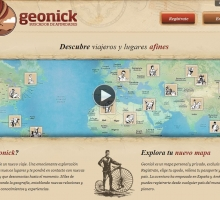 Geonick disponible para Android