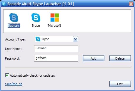 Cómo abrir múltiples sesiones de Skype
