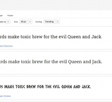 Descargar tipografías para utilizar en proyectos, presentaciones y documentos