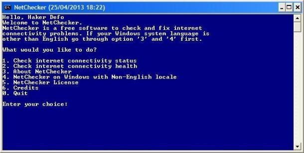 Solucionar problemas de conexión en Windows