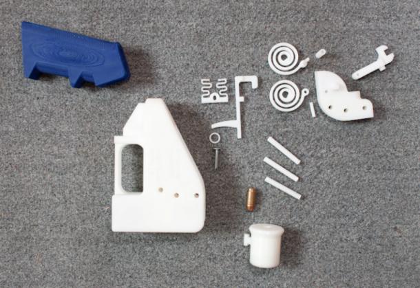 Liberator, la pistola casera para impresoras 3D