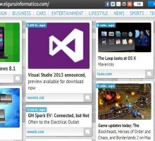 NextStories, encontrar páginas web de temática relacionada