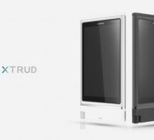 Sony XTRUD, concepto de smartphone con hardware actualizable