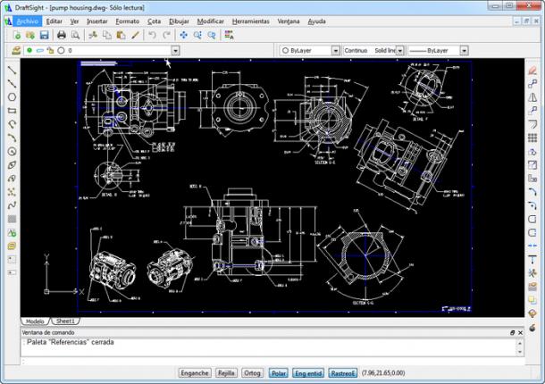 DraftSight alternativa gratuita y clon del AutoCAD